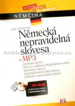 Jana Navrátilová, Tomáš Jirků: Německá nepravidelná slovesa + CD MP3 cena od 155 Kč