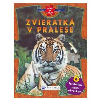Svojtka Zvieratká v pralese cena od 149 Kč