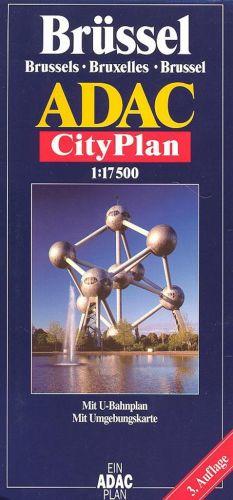 SHOCART Brüssel Brussels Bruxelles brussel ADAC City Plan cena od 156 Kč