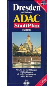 Kolektiv: Drážďany/plán 1:20T ADAC cena od 85 Kč