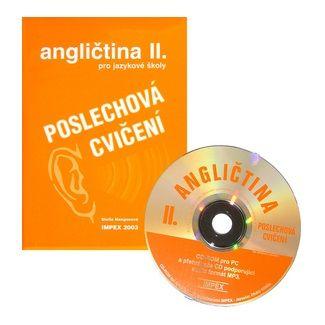 IMPEX Poslechová cvičení k angličtině pro SŠ + CD 2. cena od 122 Kč