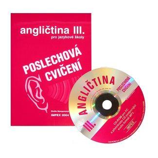 IMPEX Poslechová cvičení k angličtině pro SŠ + CD 3. cena od 129 Kč