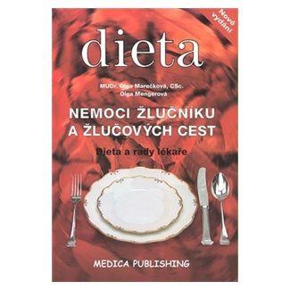 Marečková Olga, Olga Mengerová: Nemoci žlučníku a žlučových cest - Dieta a rady lékaře cena od 117 Kč