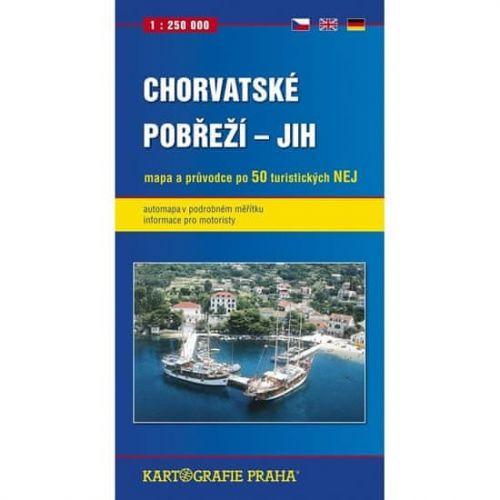 Kartografie PRAHA Chorvatské pobřeží - Jih cena od 109 Kč