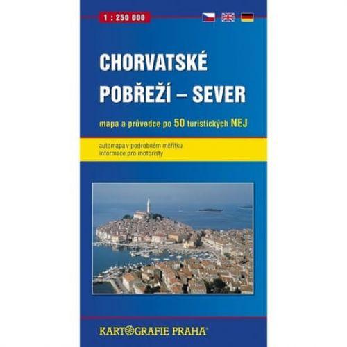 Kartografie PRAHA Chorvatské pobřeží - Sever cena od 122 Kč