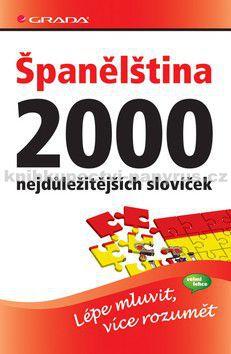 GRADA Španělština 2000 nejdůležitějších slovíček cena od 177 Kč