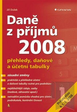 GRADA Daně z příjmů 2008 cena od 119 Kč
