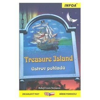 Robert Louis Stevenson: Ostrov pokladů / Treasure Island - Zrcadlová četba cena od 129 Kč