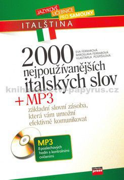 COMPUTER PRESS 2000 nejpoužívanějších italských slov + MP3 cena od 171 Kč
