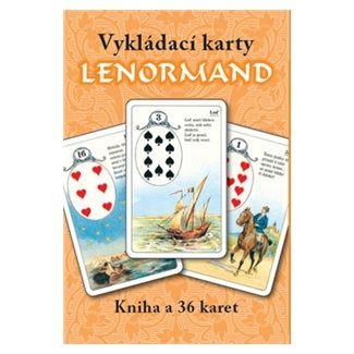 Mademoiselle Lenormand: Vykládací karty Lenormand cena od 135 Kč