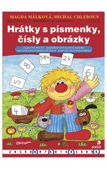 Magda Málková, Michal Chleboun: Hrátky s písmenky, čísly a obrázky cena od 94 Kč