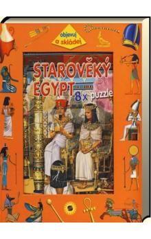 Francisco Arredondo: Starověký Egypt - 8 x puzzle cena od 75 Kč