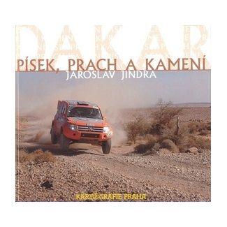 Jaroslav Jindra: Dakar - písek, prach a kamení cena od 34 Kč