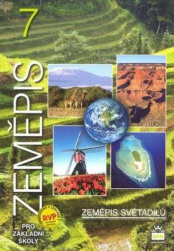 Demek a  Jaromír: Zeměpis 7 pro základní školy - Zeměpis světadílů cena od 106 Kč