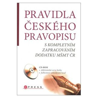 Kolektiv: Pravidla českého pravopisu + CD cena od 82 Kč