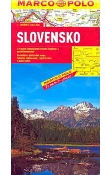 Slovensko 1:300 000 cena od 142 Kč