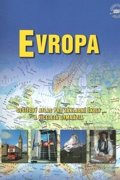 Kartografie PRAHA Evropa - sešitový atlas cena od 149 Kč