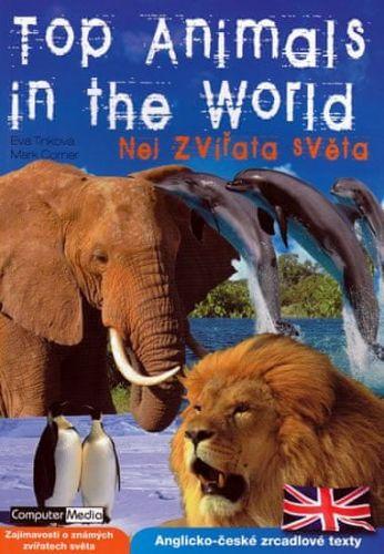 Eva Tinková, Mark Corner: Top Animals in the World - Nej zvířata světa cena od 112 Kč