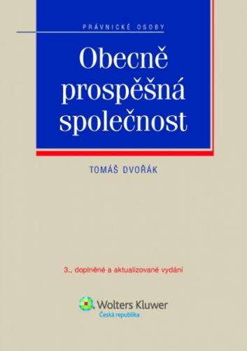 Tomáš Dvořák: Obecně prospěšná společnost cena od 159 Kč