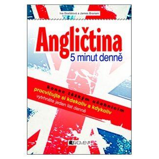 James Branam, Iva Dostálová: Angličtina - 5 minut denně cena od 101 Kč
