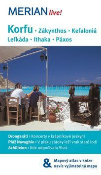 Konrad Dittrich: Korfu, Zákynthos, Kefaloniá, Lefkáda, Ithaka, Páxos cena od 120 Kč