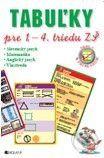 Tabuľky pre 1. – 4. triedu ZŠ - Kolektív autorov cena od 98 Kč