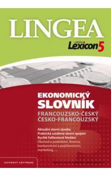 CD Lexicon5 Ekonomický slovník Francouzsko-český, Česko-francouzský cena od 142 Kč