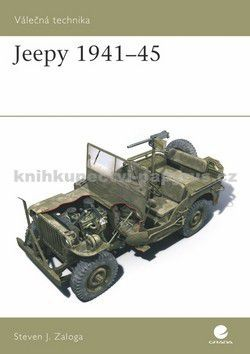 Steven Zazoga: Jeepy 1941-45 cena od 75 Kč