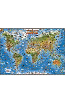 SLOVART Mapa světa pro děti cena od 145 Kč