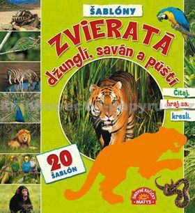 Matys Zvieratá džunglí, saván a púští cena od 154 Kč