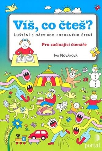 Iva Nováková: Víš co čteš? cena od 127 Kč