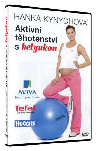 Hejbej se ON LINE s.r.o. Aktivní těhotenství s betynkou - DVD cena od 168 Kč