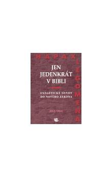 Jiří Otter: Jen jedenkrát v Bibli cena od 109 Kč