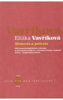 Eliška Vavříková: Mimesis a poiesis + CD cena od 82 Kč