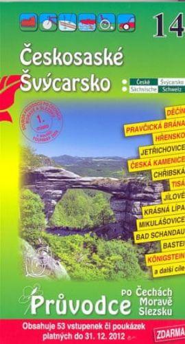 Českosaské Švýcarsko - Průvodce po Č,M,S + volné vstupenky a poukázky cena od 57 Kč
