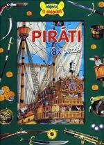 Francisco Arredondo: Piráti - 8 x puzzle cena od 134 Kč