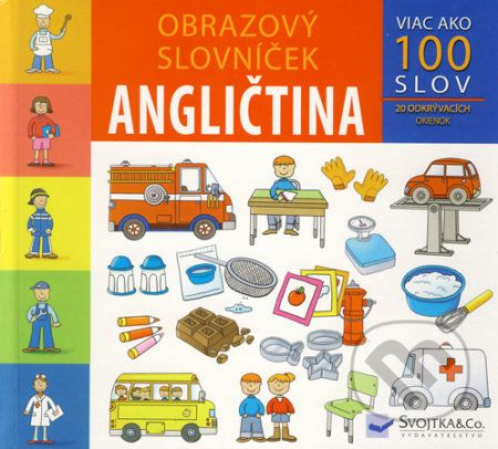 Svojtka Obrazový slovníček Angličtina cena od 105 Kč