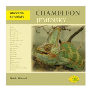 Nataša Velenská: Chameleon jemenský - Abeceda teraristy cena od 79 Kč
