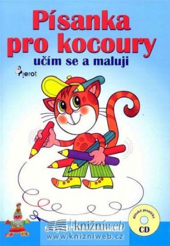 Leoš  Konáš: Písanka pro kocoury - učím se a maluji + CD cena od 86 Kč