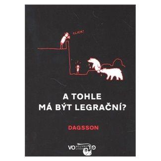 Hugleikur Dagsson: A tohle má být legrační? cena od 129 Kč