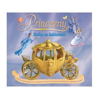 Alena Benešová: Princezny - kniha se šablonami cena od 83 Kč