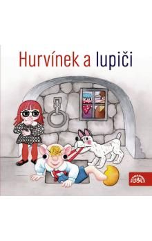 Augustin Kneifel, Pavel Grym, Josef Barchánek, Miloš Kirschner: Hurvínek a lupiči CD - Augustin Kneifel cena od 152 Kč