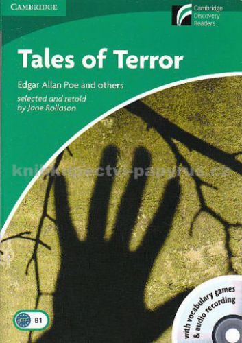 Cambridge Tales of Horror+CD - Edgar Allan Poe and others cena od 115 Kč