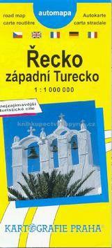 Kartografie PRAHA Řecko, západní Turecko cena od 52 Kč