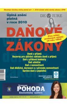 DonauMedia Daňové zákony 2010 cena od 68 Kč