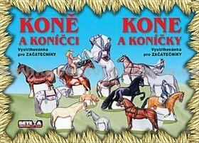 Koně a koníčci Vystřihovánka pro začátečníky cena od 0 Kč