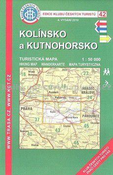 KČT 42 Kolínsko a Kutnohorsko cena od 65 Kč