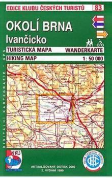 KČT 83 Okolí Brna, Ivančicko cena od 63 Kč