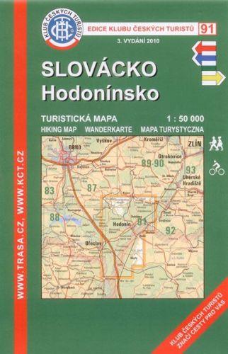 KČT 91 Slovácko, Hodonínsko 1:15 000 cena od 69 Kč