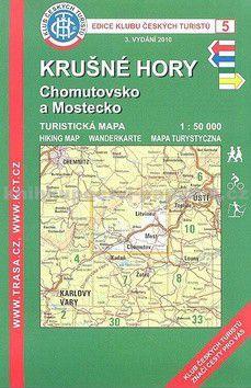 KČT 5 Krušné Hory, Chomutovsko a Mostecko cena od 85 Kč